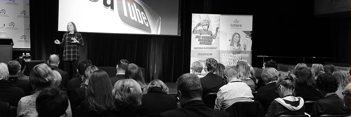 Speaking at AITD, Sydney